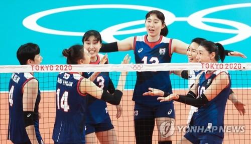 韓女排3-2勝多明尼加 晉級東奧8強現曙光