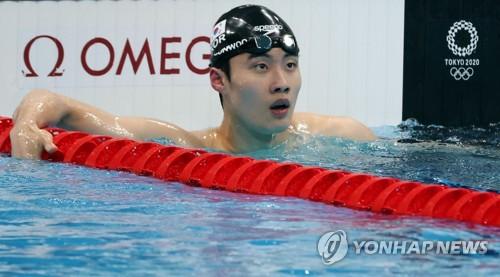韓泳壇新星黃宣優:未料能破亞洲紀錄
