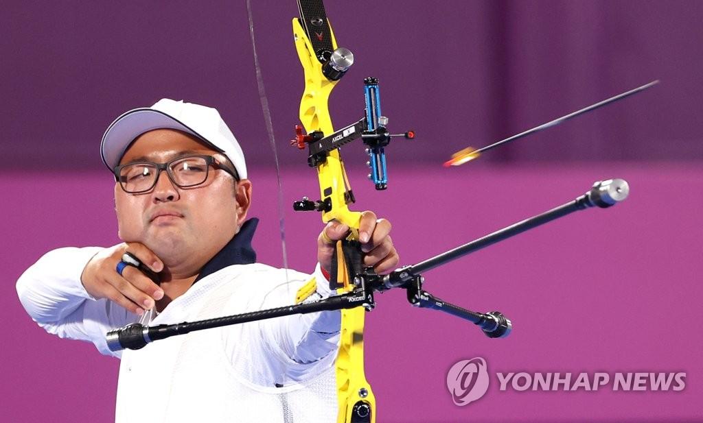 金優鎮和姜彩榮挺進東奧男女射箭個人十六強