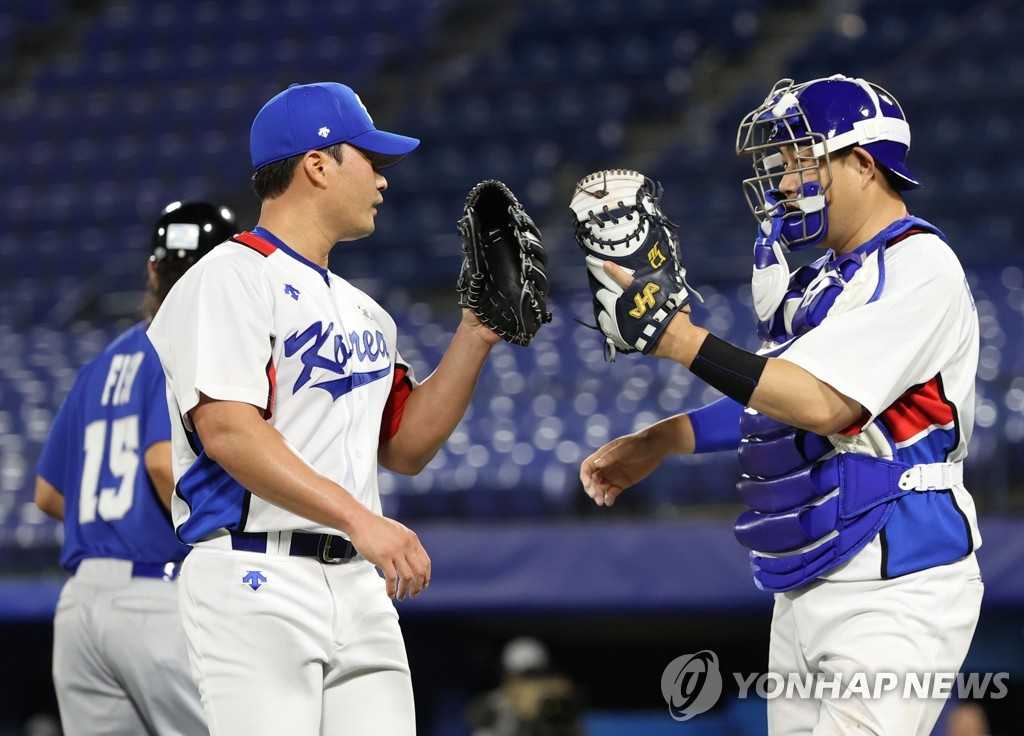 南韓棒球隊贏得奧運開門紅 6-5險勝以色列