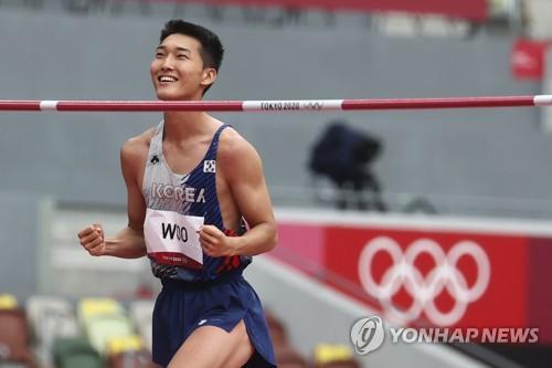 韓跳高選手禹相赫:相信自己 渴望奧運獎牌