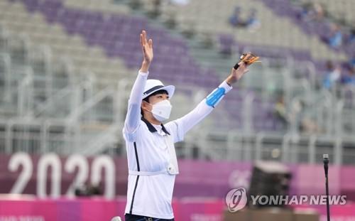詳訊:韓選手安山東奧女子射箭摘金榮膺三冠王