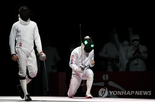 東京奧運南韓重劍男團戰勝中國奪銅