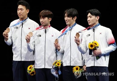南韓重劍男團奪銅