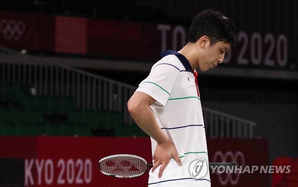 南韓選手許侊熙無緣東奧羽毛球男單四強