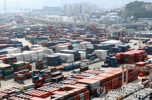 南韓10月前20天出口同比增36.1%