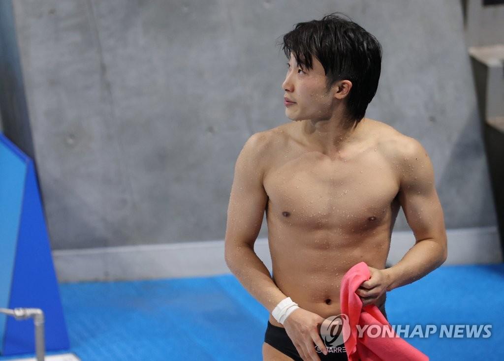 8月3日,在東京奧運男子3米跳板決賽中,禹河藍以481.85分名列第4。 韓聯社
