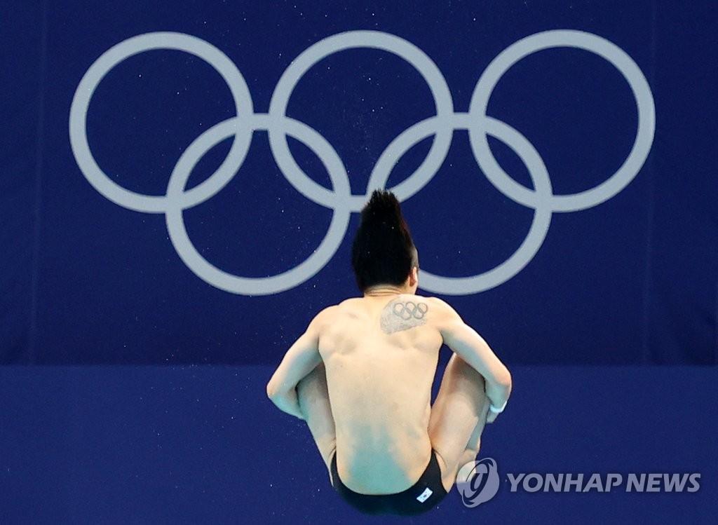 韓跳水選手禹河藍:3米板成績喜人但不會安於現狀