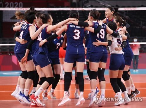 南韓女排晉級四強