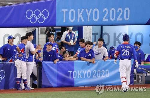 南韓棒球無緣東奧決賽