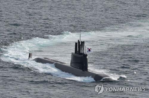南韓成功完成潛射導彈水下試射