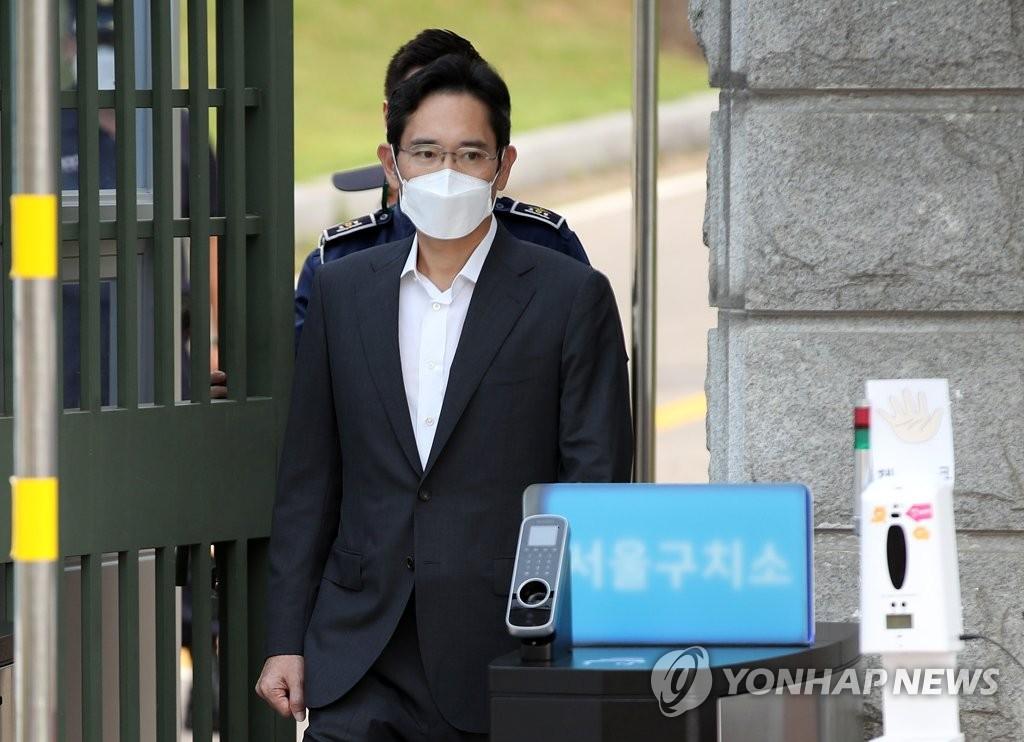李在鎔獲假釋出獄。 韓聯社