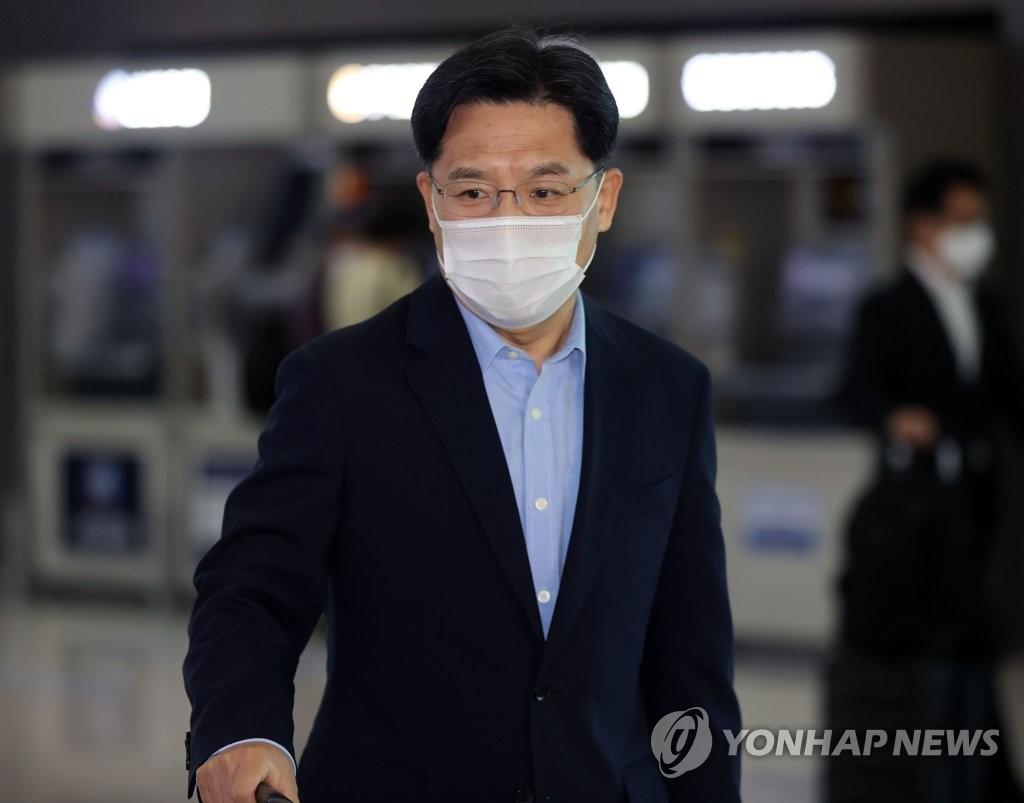 詳訊:南韓對朝代表魯圭悳啟程訪美