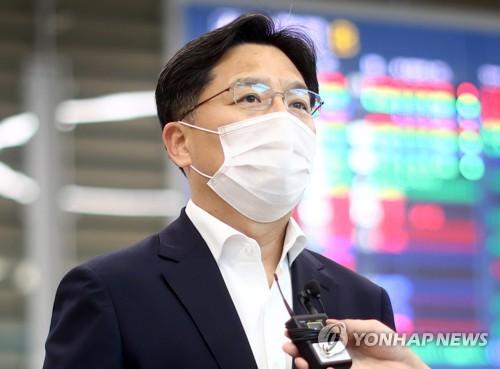 韓對朝代表魯圭悳結束訪美之行回國