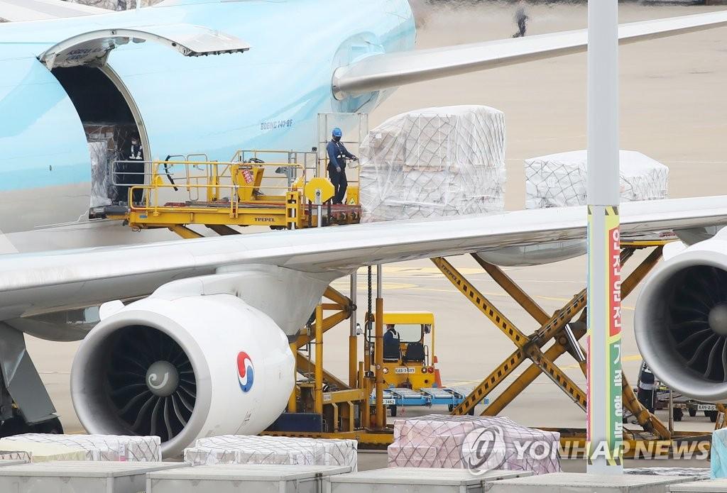 南韓直購莫德納疫苗中255.2萬劑到貨