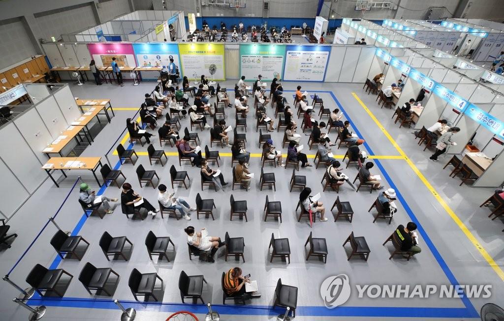 南韓首劑新冠疫苗接種率突破60%