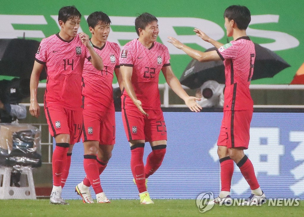 南韓國足最新FIFA排名維持第36位