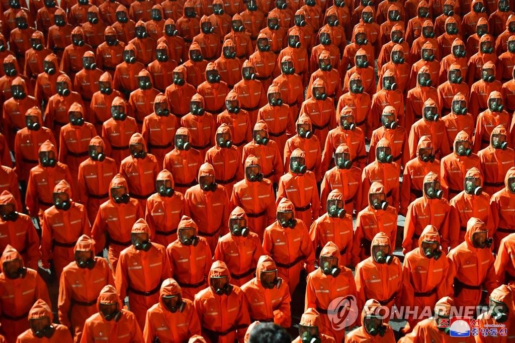 朝鮮閱兵未秀新武器 工農赤衛軍成主角