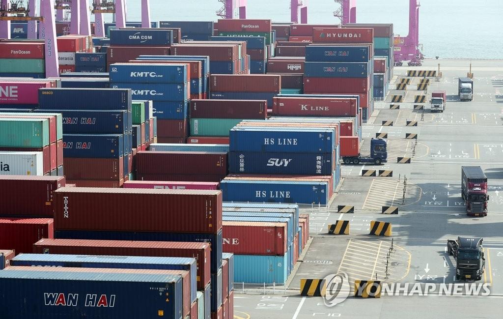 南韓9月前10天出口同比增30.7%