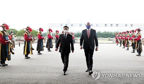 韓澳防長在首爾舉行會談