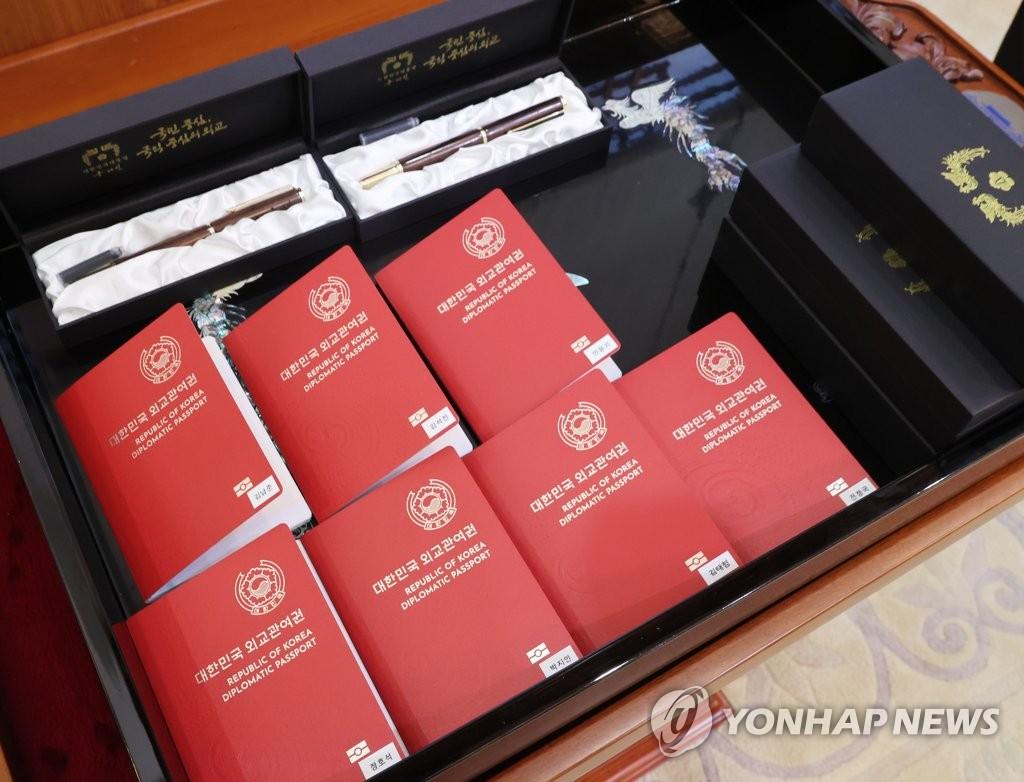 防彈獲頒外交護照