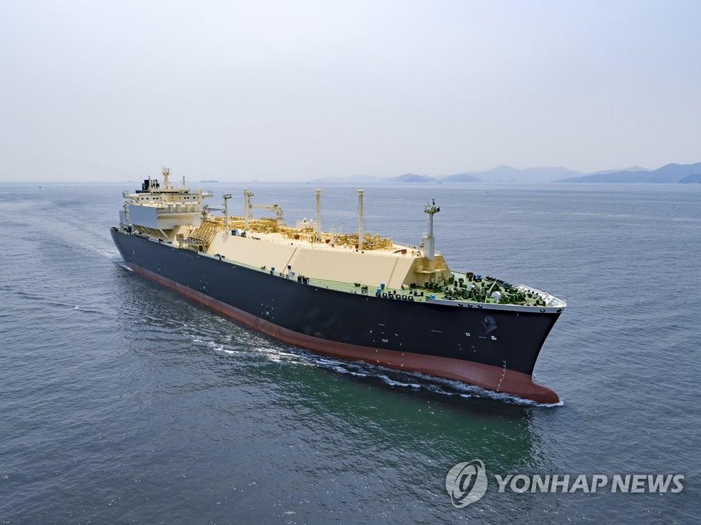 南韓船企9月新接訂單量居全球第二