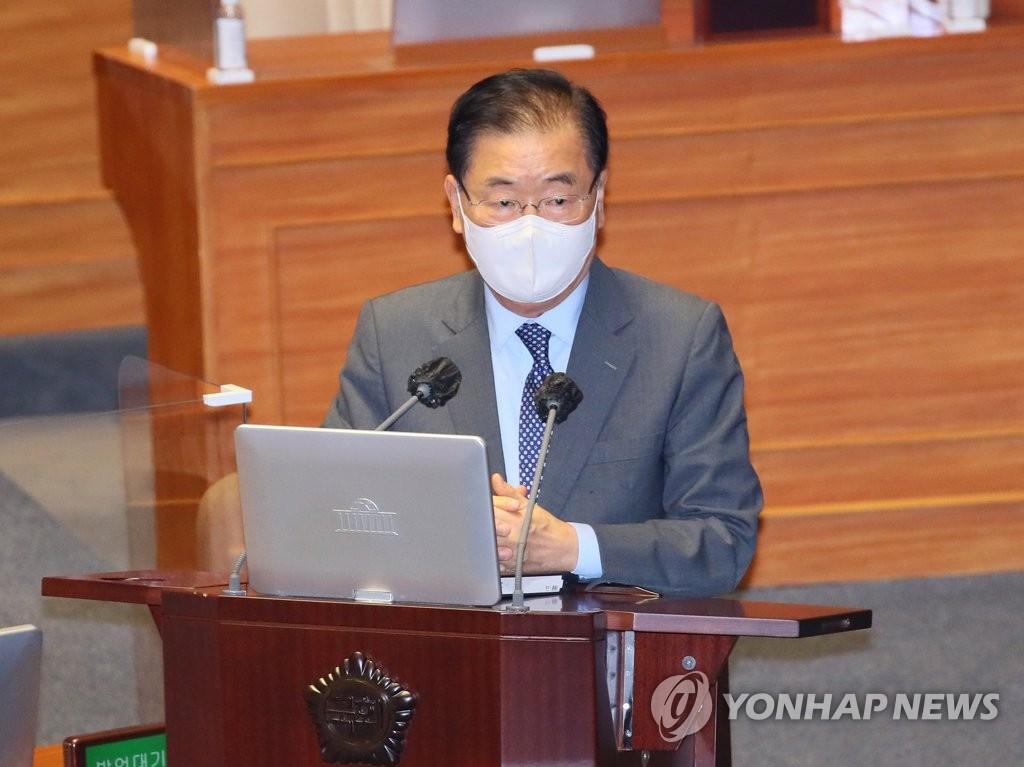 韓外長:金正恩有意實現半島無核化