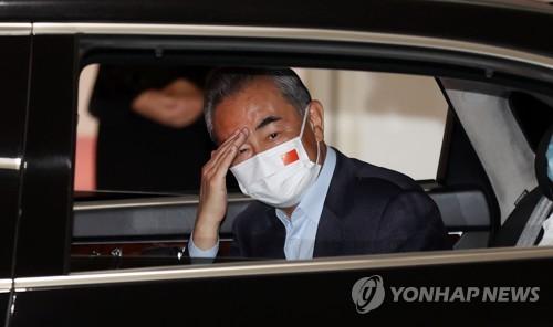 中國外長王毅抵韓開啟訪韓之旅