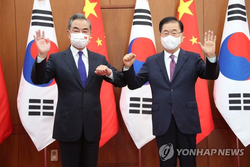韓中外長會晤