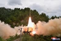 朝鮮鐵路機動團火車發射彈道導彈