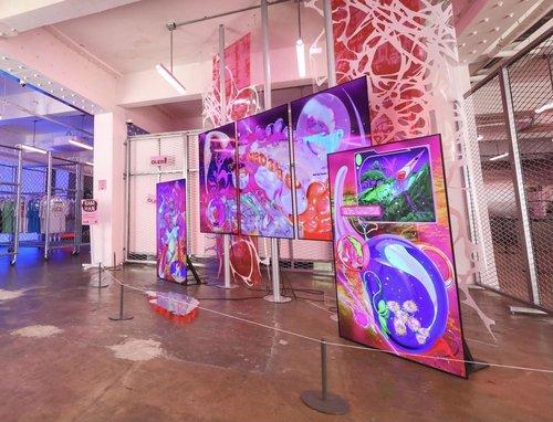 LG Display OLED數字藝術展