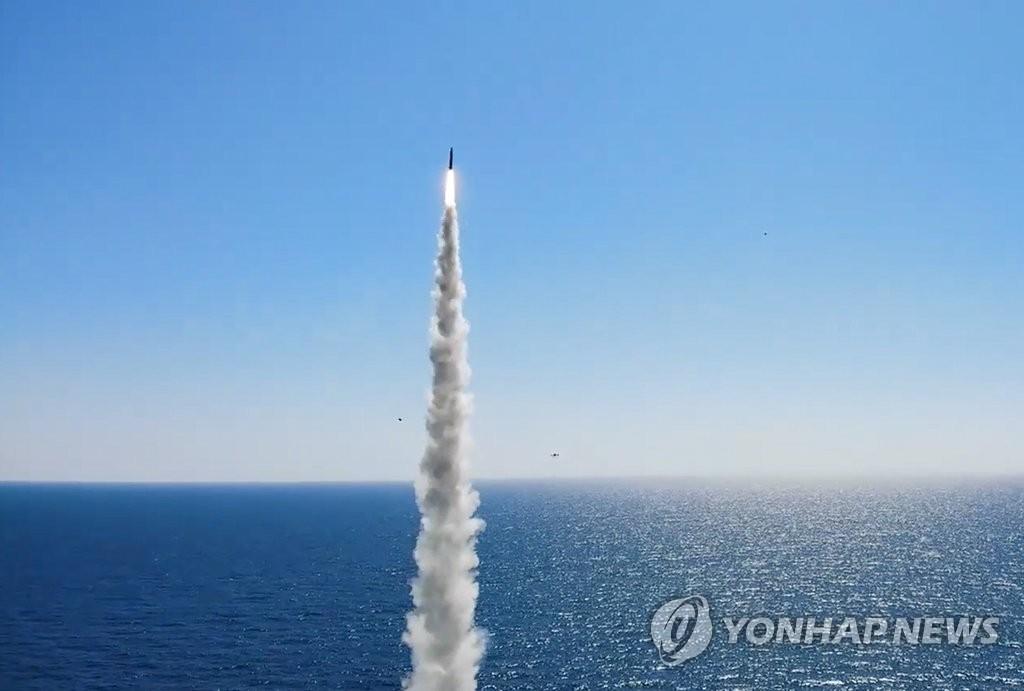 朝鮮貶低南韓自研潛射導彈剛起步