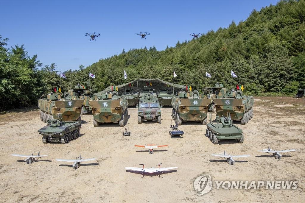 韓陸軍高端武器裝備