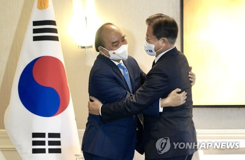 韓越領導人會晤