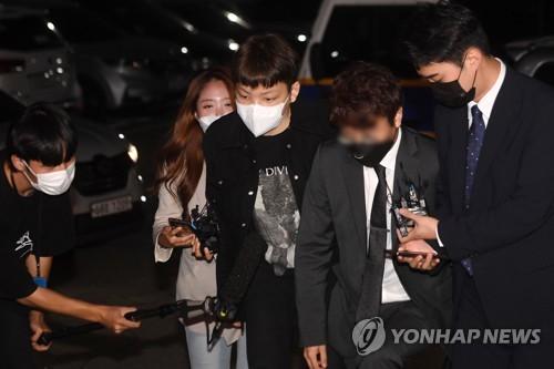 韓涉拒酒測歌手張龍俊被逮捕送檢