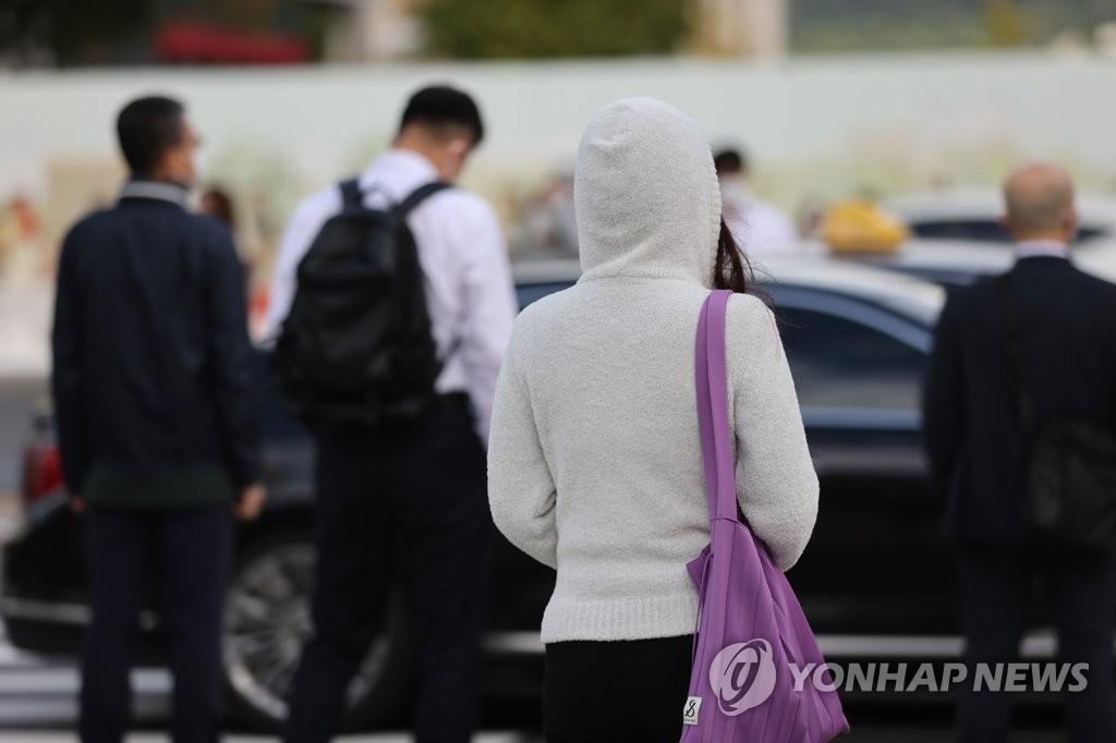 南韓本週末將出現大降溫恐降至零下