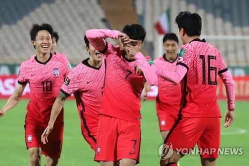 南韓國足最新FIFA排名升至第35位