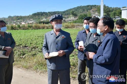 朝鮮總理視察農業工作