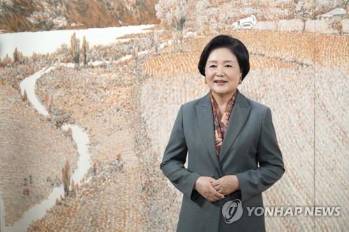 韓第一夫人寄語農村婦女