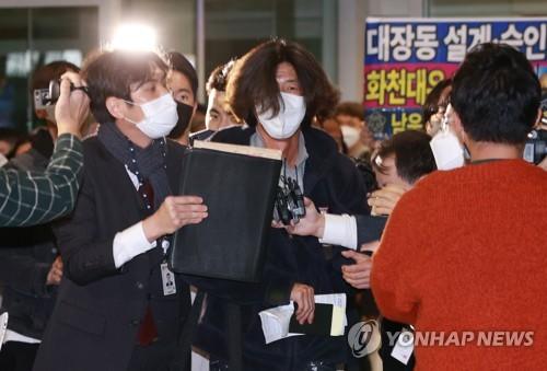 韓地產弊案關鍵人自美回國 落地即被拘留