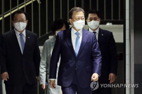 文在寅:南韓2030年減排目標上調至40%