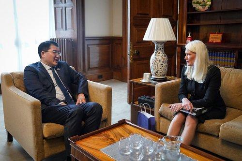 韓副外長會見英國務大臣