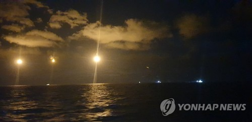 簡訊:一中國漁船在韓沉沒 12人獲救3人失蹤