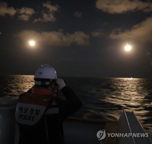 中國漁船在韓沉沒 事發地風大浪高搜救困難