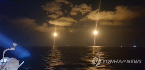南韓搜救隊連夜搜尋中國沉船失蹤者無果