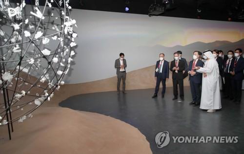 韓產業部長官參觀迪拜世博會