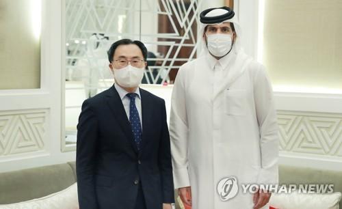 韓卡經貿部長會晤